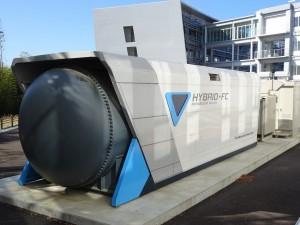 固体酸化物形燃料電池・マイクロガスタービンの複合発電システム実証機